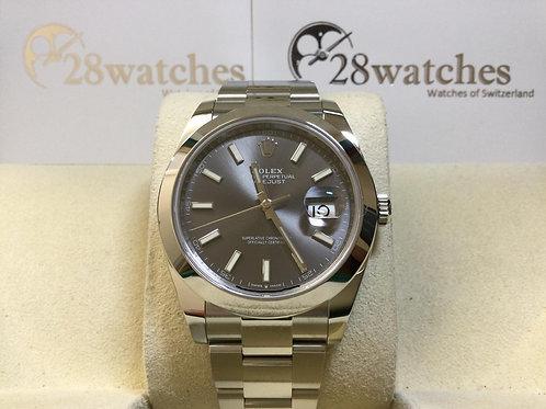 Brand new Rolex Datejust 126300 Grey 全新 - 銅鑼灣店