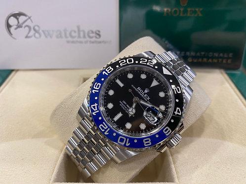 Pre-Owned Rolex GMT-Master II 126710BLNR 行貨 AD發票 五年保養 亂碼 內影 齊格 藍光 新卡 齊吊牌 - 尖沙咀店