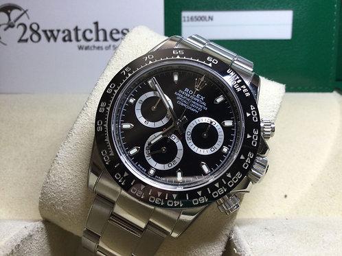 Pre-Owned Rolex Daytona 116500LN Blk 二手行貨 - 銅鑼灣店
