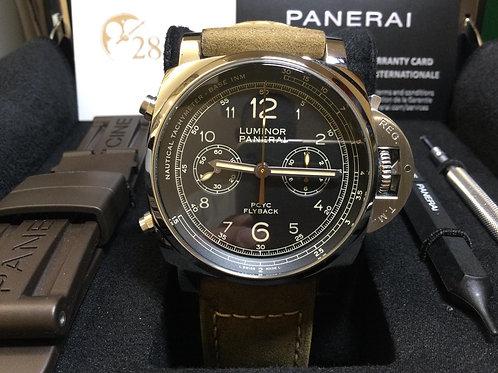 Pre-Owned Panerai Luminor 1950 3 Days Chrono Flyback PAM00653 二手,保養中  - 銅鑼灣店