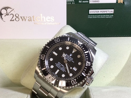 Pre-Owned Rolex Sea-Dweller Deepsea 116660 Black 二手行貨 停產 - 銅鑼灣店