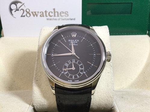Brand new Rolex Cellini Dual Time 50529 全新,五年保養 - 銅鑼灣店