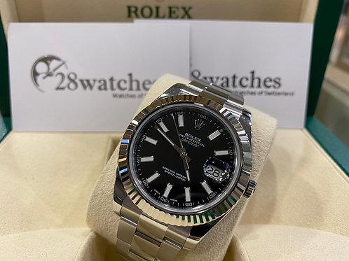 Pre-Owned Rolex Datejust 116334 BLK 二手,亂碼,內影,齊格,藍光 - 尖沙咀店