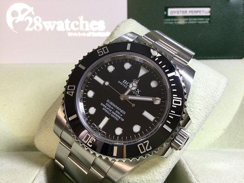 Pre-Owned Rolex Submariner 114060 二手行貨,AD發票,亂碼,停產,齊格,藍光 - 銅鑼灣店