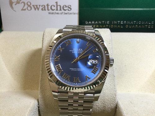 NOS Rolex Datejust 126334 BLUE 未用品,行貨,AD發票,五年保養,新卡  - 銅鑼灣店