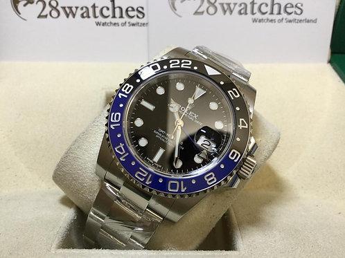 【銅鑼灣店】二手 Rolex GMT-Master II 116710BLNR「行貨」「停產」