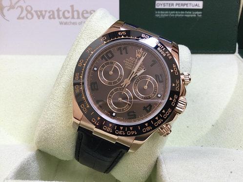 Pre-Owned Rolex Daytona 116515LN CHO 二手,停產  - 銅鑼灣店