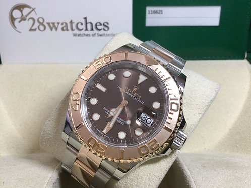 Pre-Owned Rolex Yacht-Master 40 116621 二手 - 銅鑼灣店