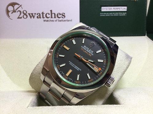 Pre-Owned Rolex Milgauss 116400GV BLK 二手 - 銅鑼灣店