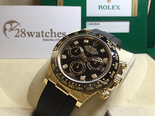 Pre-Owned Rolex Daytona 116518LN 二手,五年保養,行貨- 銅鑼灣