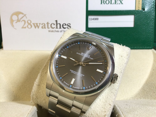 Pre-Owned Rolex Oyster Perpetual 114300 二手 - 銅鑼灣店