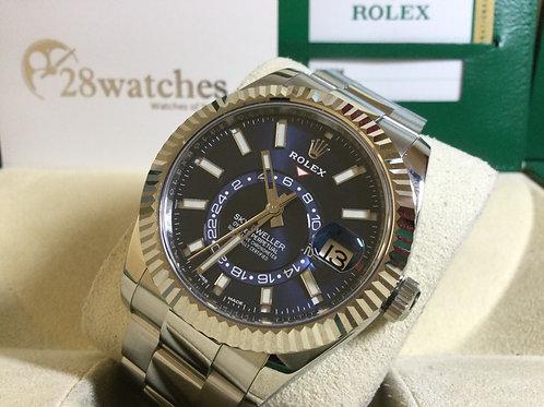 Pre-Owned Rolex Sky-Dweller 326934 BLUE 二手 - 銅鑼灣店