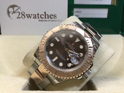Pre-Owned Rolex Yacht-Master 40 116621 Cho 二手 - 銅鑼灣店