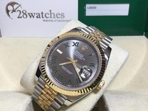 Pre-Owned Rolex Datejust 126333 二手行貨 AD發票 亂碼 內影 齊格 新機芯 - 銅鑼灣店