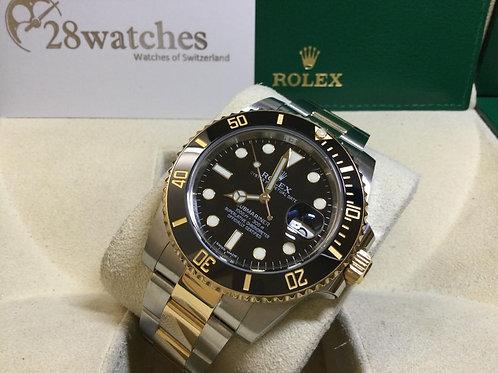 Pre-Owned Rolex Submariner Date 116613 二手,淨錶  - 銅鑼灣店