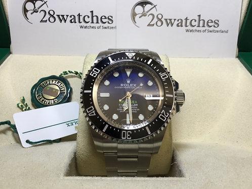 【銅鑼灣店】未用品 Rolex Sea-Dweller Deepsea 126660「未用品」「行貨」「AD發票」「五年保養」