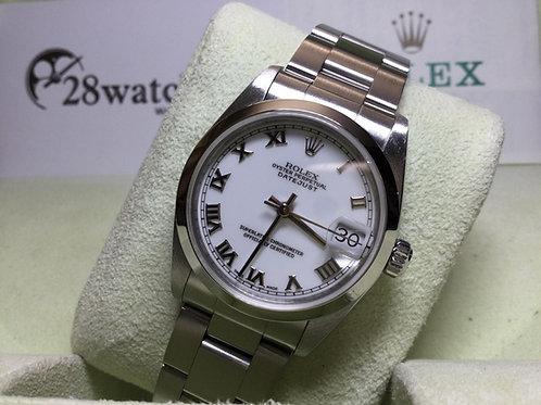 Pre-Owned Rolex Datejust 68240 WHT 二手行貨,H頭 - 銅鑼灣店