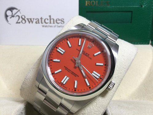 NOS Rolex Oyster Perpetual 124300 未用品 - 銅鑼灣店