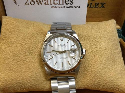 Pre-Owned Rolex Datejust 16200 二手,淨錶,Y頭 - 銅鑼灣店
