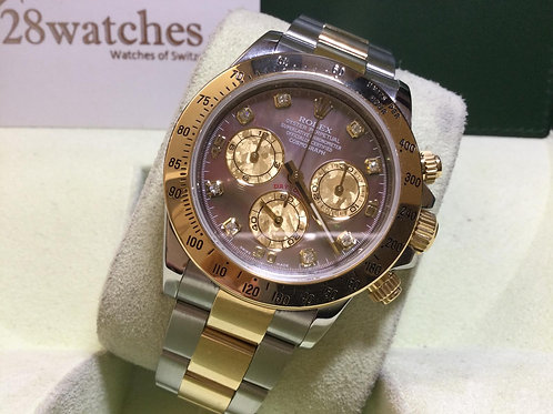 Pre-Owned Rolex Daytona 116523NC8DI 行貨,AD發票,停產  - 銅鑼灣店