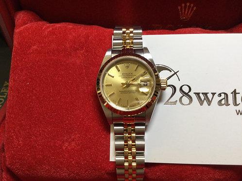 Pre-Owned Rolex Datejust 79173 二手行貨,部份膠紙,停產,齊格 - 銅鑼灣店