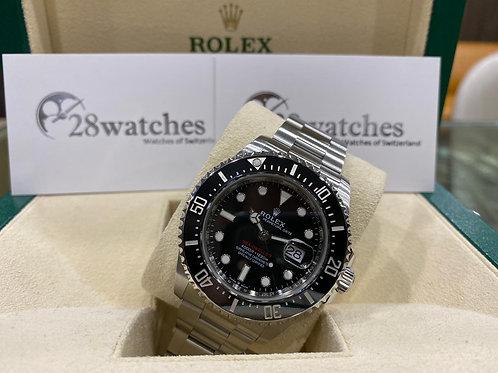 Pre-Owned Rolex Sea-Dweller 126600 MK2 二手行貨,五年保養,亂碼,內影,齊格,藍光,齊吊牌 - 尖沙咀店