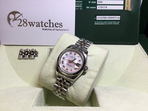 Pre-Owned Rolex Datejust 179174 二手行貨,停產,M頭 - 銅鑼灣店