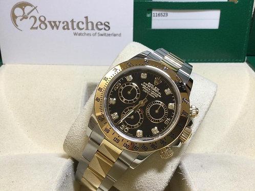 Pre-Owned Rolex Daytona 116523 BLK 二手行貨  - 銅鑼灣店