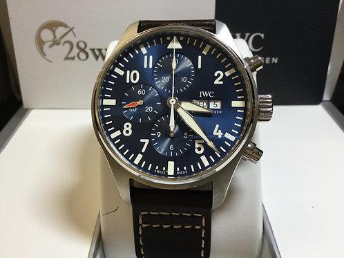 Pre-Owned IWC Pilot Chronograph IW377714 二手,保養中,小王子 - 銅鑼灣店