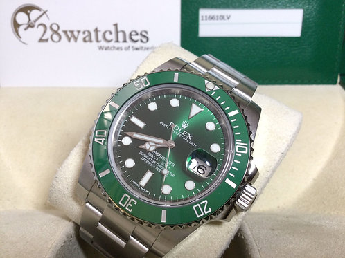 Pre-Owned Rolex Submariner Date 116610LV 二手 - 銅鑼灣店