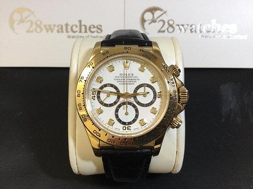Pre-Owned Rolex Daytona 16518 二手,淨錶,罕有,Zenith 機芯,停產 - 銅鑼灣店