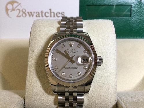 Brand new Rolex Datejust 179174 全新,貝石,公價$84,900  - 銅鑼灣店