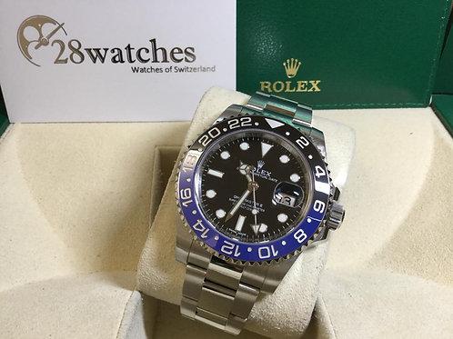 二手 Rolex GMT-Master II 116710BLNR「行貨」「停產」「光扣」「AD發票」- 銅鑼灣店