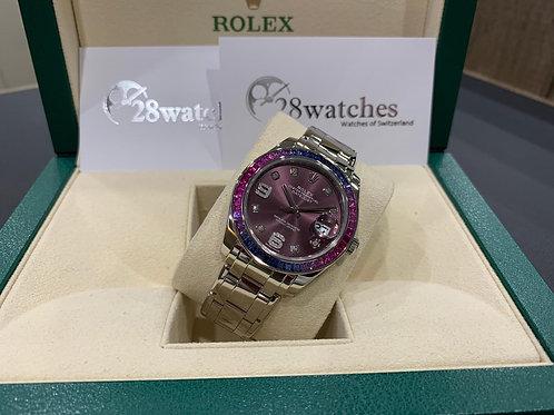 Pre-Owned Rolex Datejust Pearlmaster 86349SAFUBL 二手,亂碼,內影,停產 - 尖沙咀店