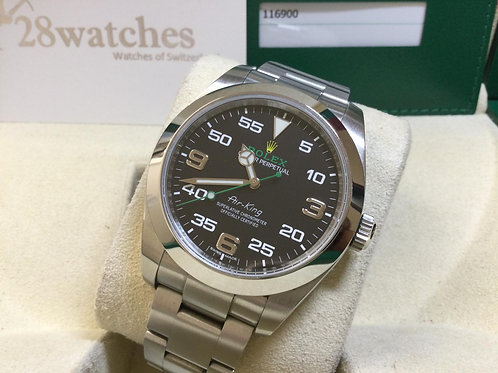 Pre-Owned Rolex Air King 116900 二手 - 銅鑼灣店