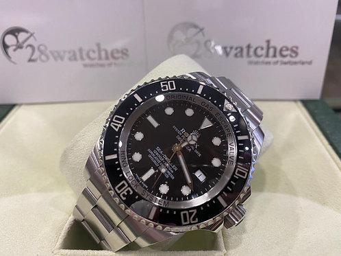 Pre-Owned Rolex Sea-Dweller Deepsea 116660 BLK 二手,亂碼,內影,停產,齊格,藍光 - 尖沙咀店