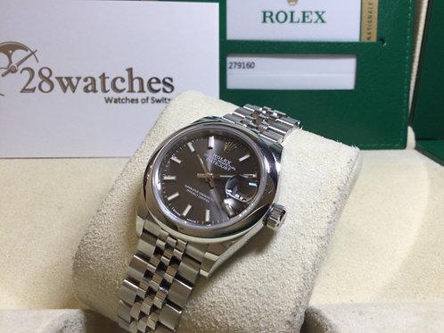 Pre-Owned Rolex Datejust 279160 二手,行貨 - 銅鑼灣店