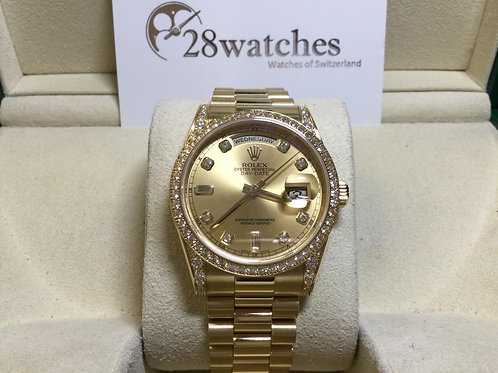 Pre-Owned Rolex Day-Date 118388 二手,淨錶  - 銅鑼灣店