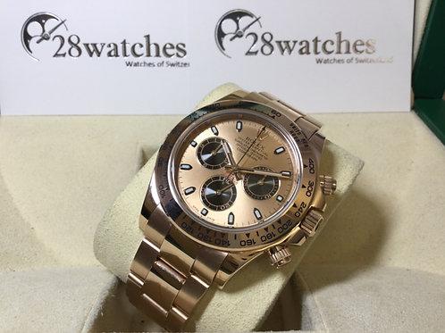 【銅鑼灣店】二手 Rolex Daytona 116505Pink「行貨」