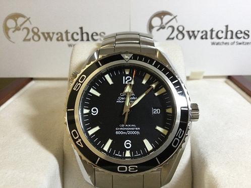 Pre-Owned Omega Seamaster Planet Ocean 2200.50.00 二手行貨,AD發票 - 銅鑼灣店