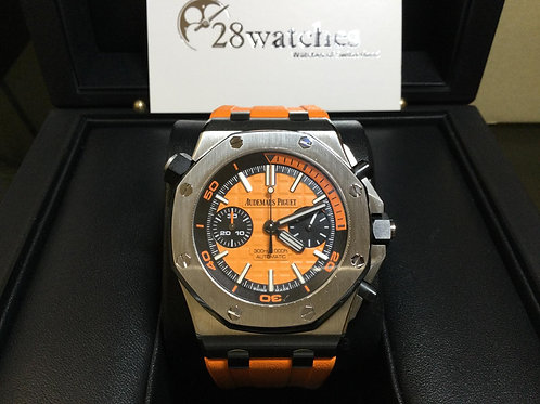 Pre-Owned A.P Royal Oak Offshore Diver Chronograph 26703ST.OO.A070CA.01 二手 -銅鑼灣店