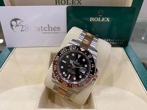 Brand new Rolex GMT-Master II 126711CHNR 全新,五年保養,亂碼,齊吊牌,部份膠紙,內影,齊格,藍光,新保卡 - 尖沙咀店