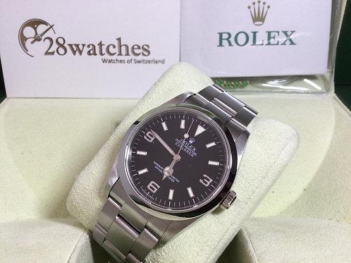 Pre-Owned Rolex Explorer 114270 二手 停產 F頭 - 銅鑼灣店