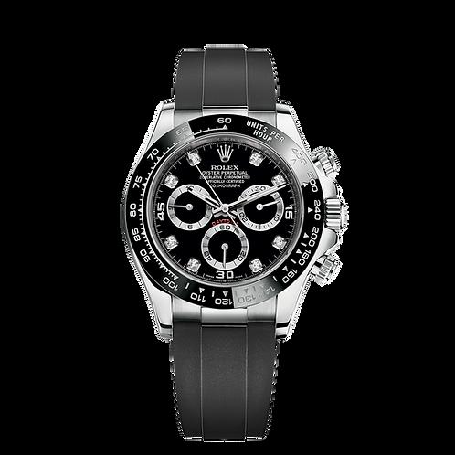 全新 Rolex DAYTONA 116519LN-0025 Black set with Diamonds