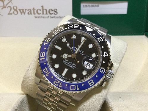 Pre-Owned Rolex GMT-Master II 126710BLNR 二手 - 銅鑼灣店