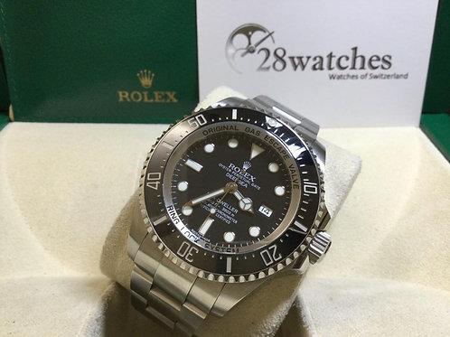 Pre-Owned Rolex Sea-Dweller Deepsea 116660 二手行貨,AD發票,保養中,亂碼,停產,尾期  - 銅鑼灣店