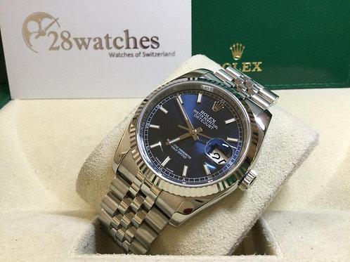 Pre-Owned Rolex Datejust 116234 二手行貨,AD發票,保養中,亂碼,內影,停產,齊格,藍光 - 銅鑼灣店