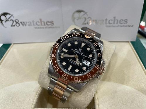 Pre-Owned Rolex GMT-Master II 126711 二手,五年保養,內影,亂碼,齊格,藍光,新保卡 - 尖沙咀店