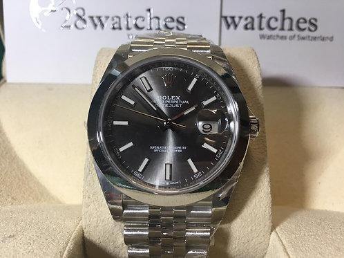 Brand new Rolex Datejust 126300 Grey 全新 NXW122 - 銅鑼灣店