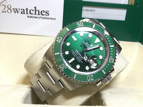 Pre-Owned Rolex Submariner Date  116610LV 停產- 銅鑼灣店